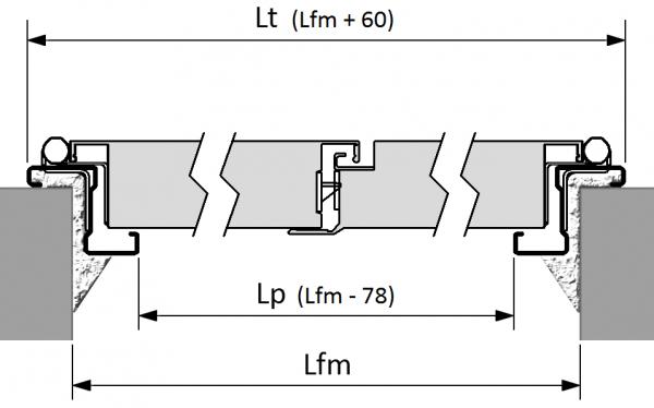 porta tamburata multiuso doppia anta