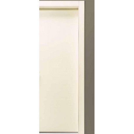 porta battente bianco matrix inciso