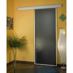 porta in vetro scorrevole esterna