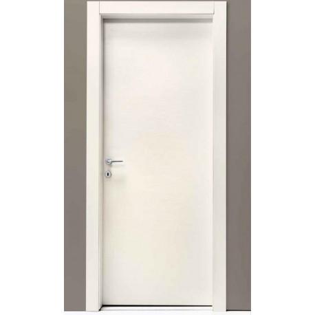 porta battente bianco inciso