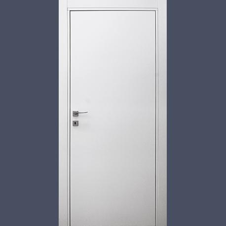 porta bianca cerniera a scomparsa